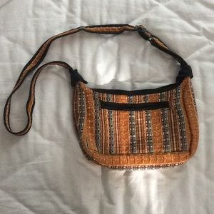 Satchel/Purse // Yellow // Guatemala